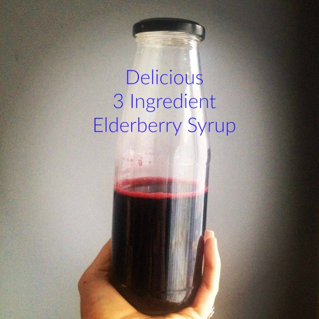 Elderberry Syrup 1